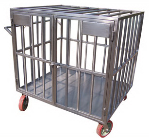 Animal Cage Trolley